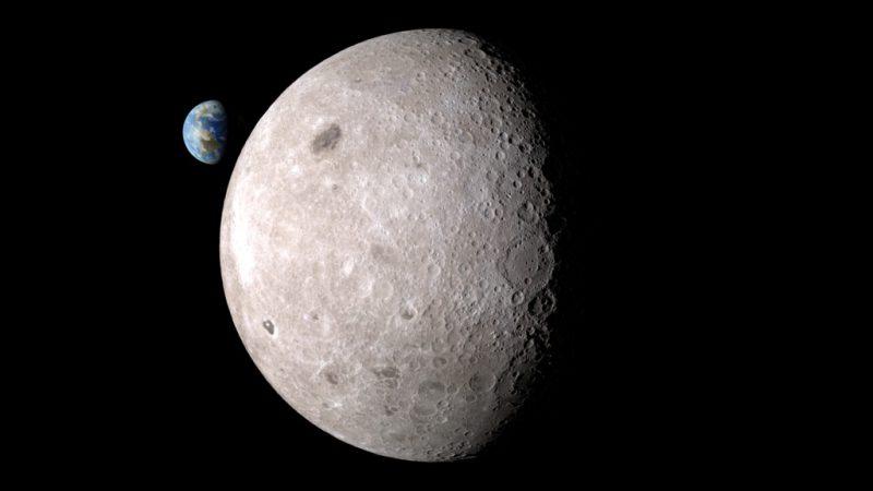 dark side of the moon と far side of the moon Космоград